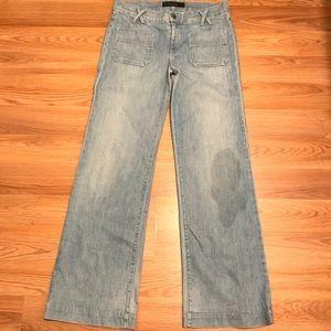 Goldsign Women's Wide Leg Jeans - 31